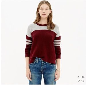 MADEWELL Colorblock woven sweater 😍 size M